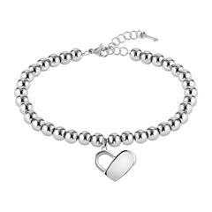 Beads Collection Gravurarmband aus Edelstahl für Damen