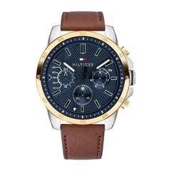 Uhr Decker Casual für Herren mit braunem Lederband