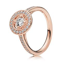 ROSE Ring Vintage Allure mit Zirkonia