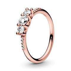 Ring Sparkling Elegance mit Zirkonia PANDORA ROSE