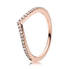 Ring Shimmering Wish Pandora Rose