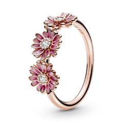 Damenring Rosa Gänseblümchen, ROSE