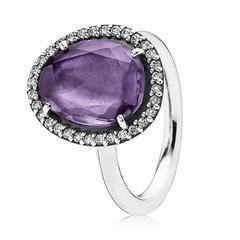 925 Silber Ring Amethyst