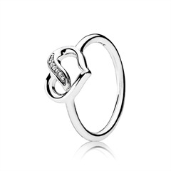 Ring Liebesband 925er Silber