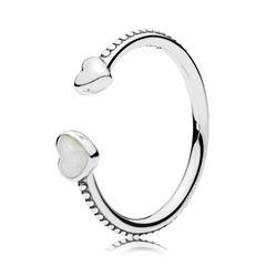 Sterlingsilber Ring Herzen