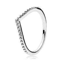 Sterlingsilber Ring V-Form