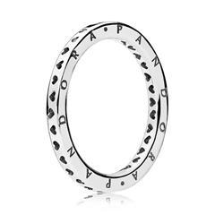 Sterling Silver Ring Signature Hearts Of Pandora