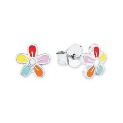 Blumen Ohrstecker für Mädchen aus Sterlingsilber