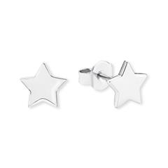 Ohrstecker Stern für Damen aus Sterlingsilber