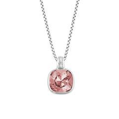 Halskette für Damen aus 925er Silber Swarovski Kristall