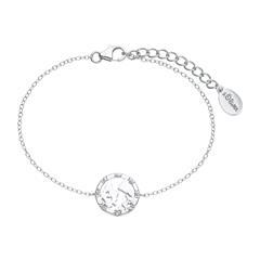 Armband Welt für Damen aus 925er Silber mit Zirkonia