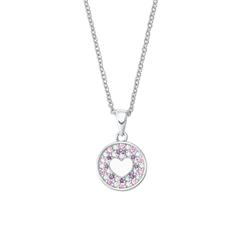 Gravierbare Halskette für Mädchen aus Sterlingsilber
