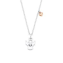 925er Silberkette Schutzengel für Mädchen