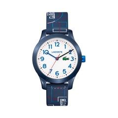 Uhr für Kinder mit Quarzwerk blau