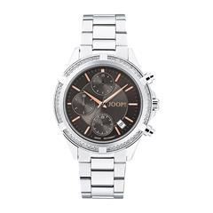 Chronograph für Damen aus Edelstahl