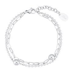 Layer Armband für Damen aus Edelstahl