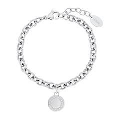 Damen Armband aus Edelstahl mit Zirkonia