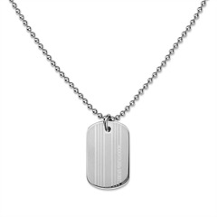 gravierbares DogTag silber