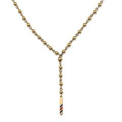 Kette Damen gold Perlen