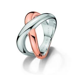 Cross Ring bicolor