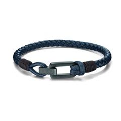 Armband Leder dunkelblau