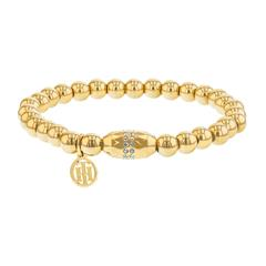 Damen Armband Classic Signature Edelstahl, vergoldet