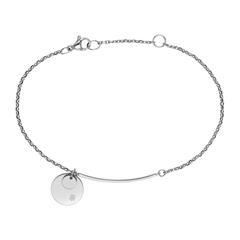 Dressed up Armband für Damen aus Edelstahl, gravierbar