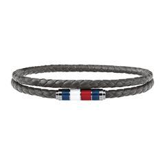 Geflochtenes Armband Casual Core aus Leder