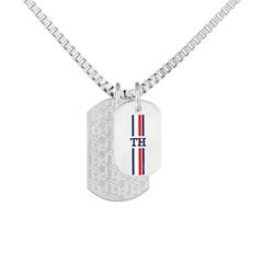 Dog Tag Chain For Men By Tommy Hilfiger Made Of Stainless Steel, Gold Plated
