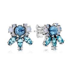 Ohrringe Eiskristalle 925er Silber