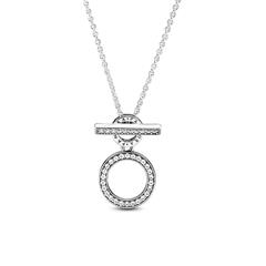 925er Silberkette für Damen mit Zirkonia