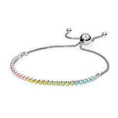 Armband Multi-Colour Sparkling 925er Silber