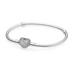 Armband Herz Zirkonia Silber