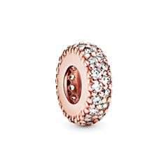Rose Slide Bead Zirkonia