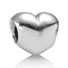 Silber Charm Herz
