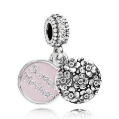 Charm-Anhänger Sweet Mother 925 Silber