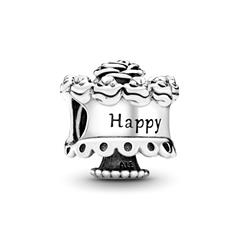 Birthday-Charm 925er Sterling Silber