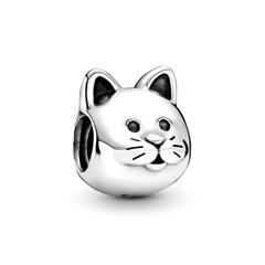 Katze-Charm 925er Silber