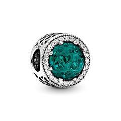 925er Silber Bead grün