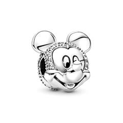 Disney Clip Charm Shimmering Mickey aus 925er Silber