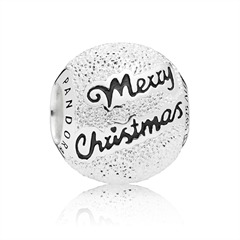 Sterlingsilber Bead Merry Christmas