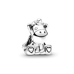 Charm Bruno The Unicorn aus 925er Sterlingsilber