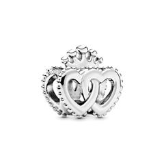 Charm United Regal Hearts aus 925er Sterlingsilber