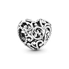 Charm Regal Heart aus 925er Sterlingsilber
