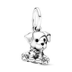 Charm Anhänger Labrador Puppy aus 925er Silber