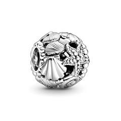 Sterling Silver Ocean Bead