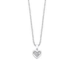 Herzkette für Damen aus Edelstahl