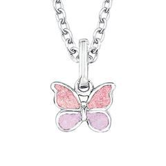 Mädchenkette Schmetterling aus Sterlingsilber