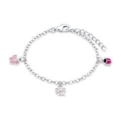 Armband für Mädchen aus Sterlingsilber