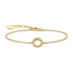 Armband Kreis aus vergoldetem Sterlingsilber